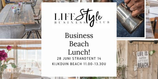 Lifestyle Business Beach Lunch Kijkduin
