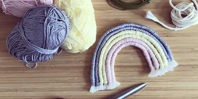 Rainbow Wall Hanging Workshop