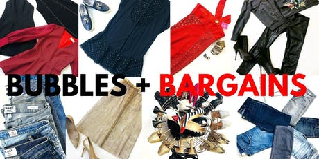 Pre-loved Designer Fashion Sale- Bubbles + Bargains! tickets