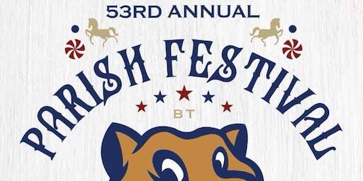 Blessed Trinity Parish Festival