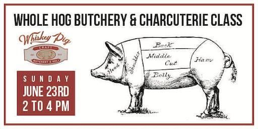 Whole Hog Butchery & Charcuterie Class