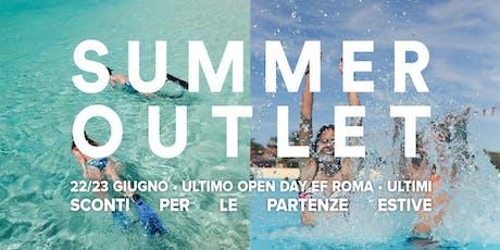 Summer Outlet - Roma biglietti