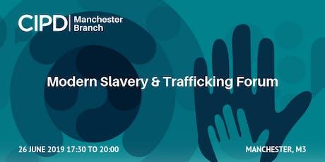 Modern Slavery and Trafficking Forum tickets