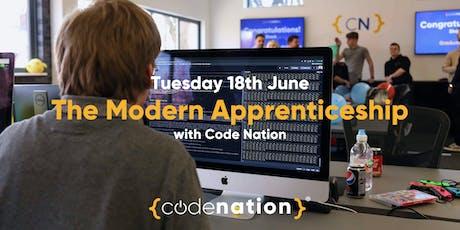 Apprenticeship Schemes at Code Nation tickets