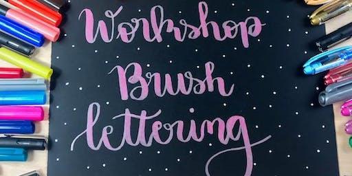Workshop Brush Lettering