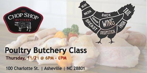 Poultry Butchery Class - November 21st