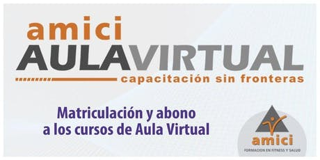 AULA VIRTUAL INICIO MAYO 2019 entradas