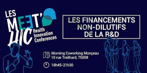 Meet'HIC - Financements non-dilutifs de la R&D