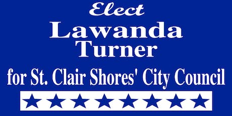 Canvass with Lawanda Turner, St. Clair Shores City Council Candidate tickets