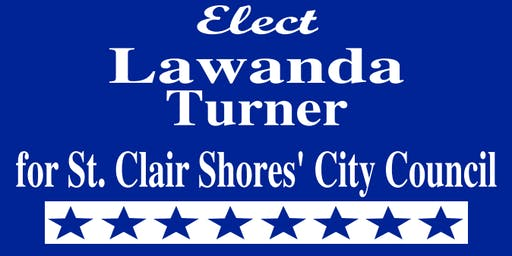 Canvass with Lawanda Turner, St. Clair Shores City Council Candidate