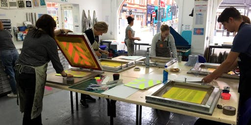 Make Your Mark: Creative Approaches to Screen Printing - 5 Week Course