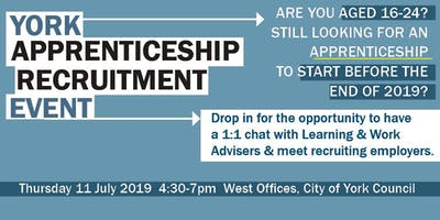 York Apprenticeship Recruitment Event