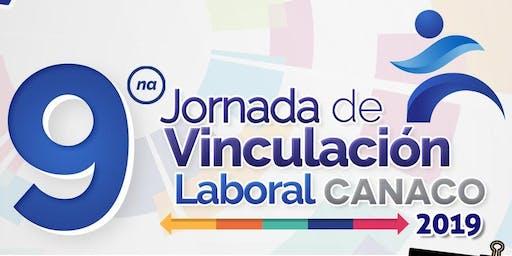 9° Jornada de Vinculación Laboral CANACO 2019 (Empresas)