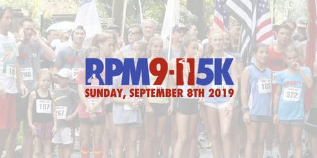 2019 RPM 911 Race (5k) tickets