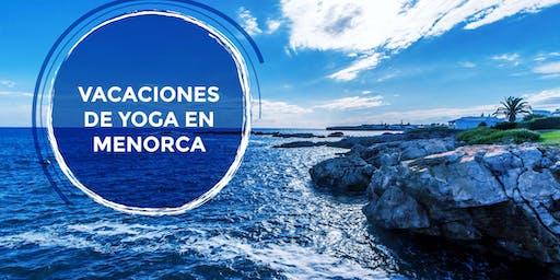 vacaciones de yoga en Menorca