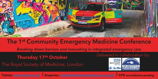 The 1st Community Emergency Medicine Conference