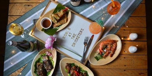 Roni B's Platitios | Dinner - Pop up at The Cricketers