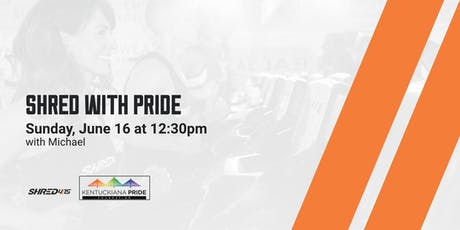 Shred with PRIDE tickets