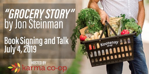 Grocery Story: Meet and Talk with Author Jon Steinman