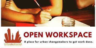 Open Workspace for Urban Changemakers **FREE**