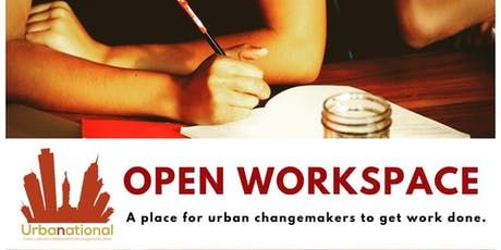 Open Workspace for Urban Changemakers **FREE** tickets