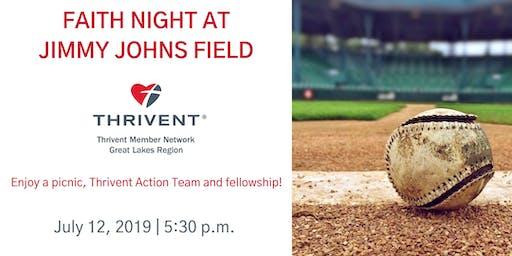 Faith Night at Jimmy Johns Field