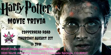 Harry Potter *Movie* Trivia at Copperhead Road Bar & Nightclub tickets