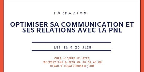 "FORMATION ""INITIATION A LA PNL"" billets"