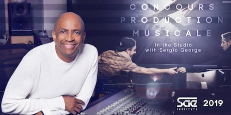 Finale Concours Production Musicale SAE 2019 : In the Studio with Sergio George entradas