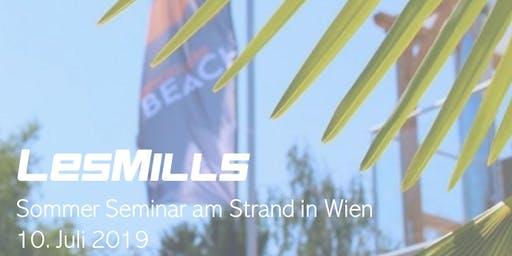 LES MILLS Sommer Seminar am Strand in Wien