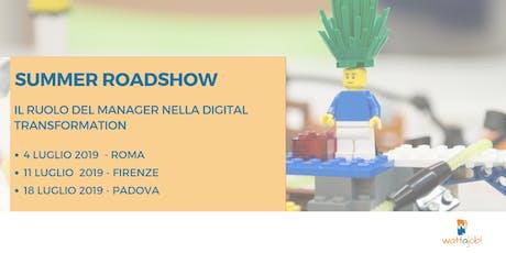 Roadshow: Il ruolo del manager nella Digital Transformation - Firenze biglietti