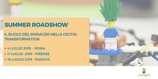 Roadshow: Il ruolo del manager nella Digital Transformation - Firenze
