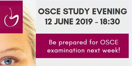 OSCE Study Evening for Training Dental Nurses