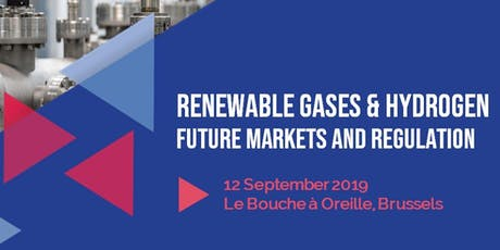 Renewable gases & hydrogen: future markets and regulation tickets