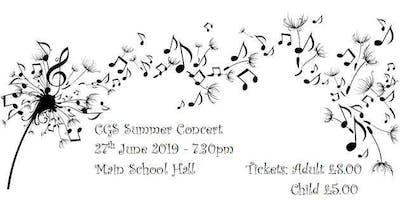 CGS Summer Concert