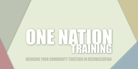 One Nation Training - Churches of St. Clair County tickets
