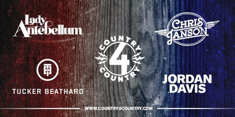Country4Country featuring, Lady Antebellum & Chris Janson, Presented by Pepsi Mid-America tickets