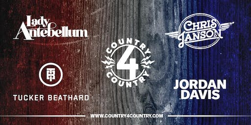 Country4Country featuring, Lady Antebellum & Chris Janson, Presented by Pepsi Mid-America