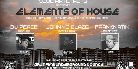 Elements of HOUSE (The Orlando Sessions) tickets