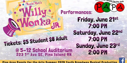 Willy Wonka Jr. (Live Musical Theatre)