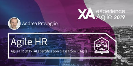 Agile Talent/Agile HR (ICP-TAL) ingressos