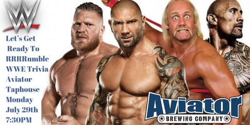 WWE at Aviator Tap House