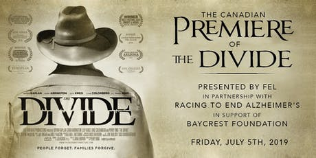 "Canadian Premiere of ""The Divide"" tickets"