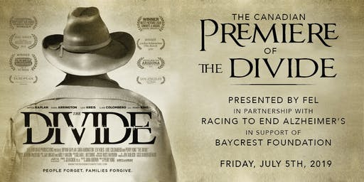 "Canadian Premiere of ""The Divide"""