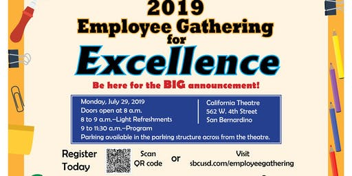 8th Annual Employee Gathering for Excellence
