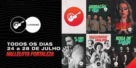 Lounge Halleluya 2019 - Pacote Todos os Dias ingressos