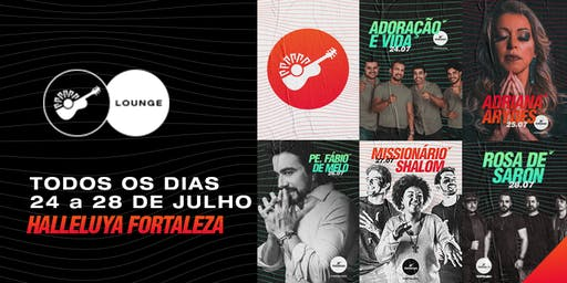 Lounge Halleluya 2019 - Pacote Todos os Dias
