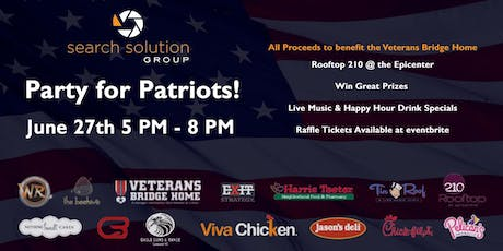Party for Patriots tickets