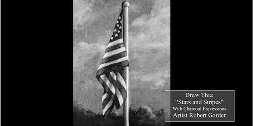"VETS Fundraising Charcoal Drawing Event ""Stars and Stripes"" between La Valle and Mauston"