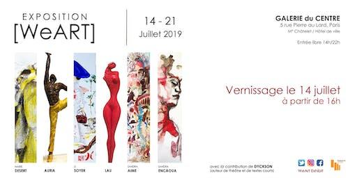 Expo [WeART] - Sandra ENCAOUA / Marie DESERT / Li SOYER / LAU / AURIA / Sandra AIME / DYCKSON